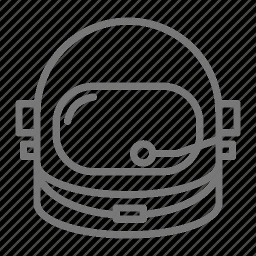 astronaut, astronomy, gravity, helmet, nasa, space icon