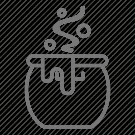 brew, cauldron, halloween, witch icon