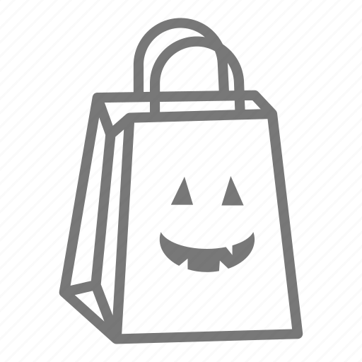bag, candy, halloween, sweet, trick or treat icon