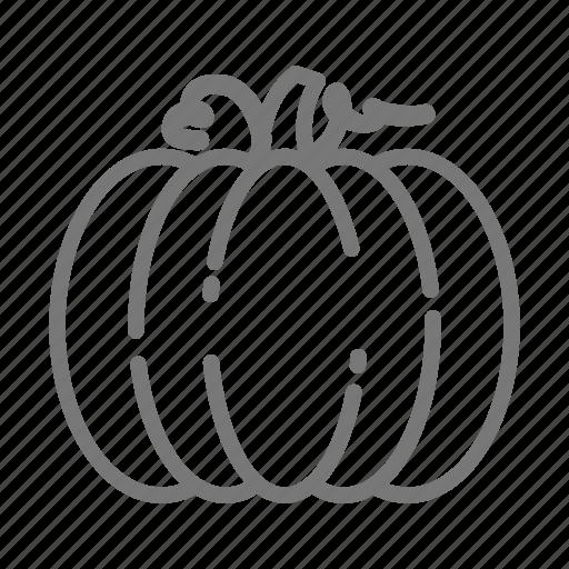 halloween, patch, pumpkin, squash icon