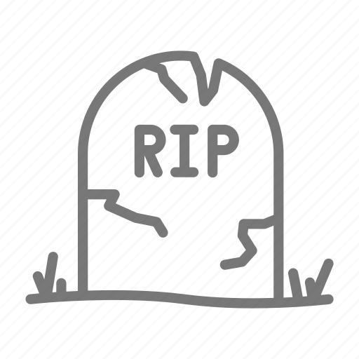 grave, halloween, horror, spook, tomb icon