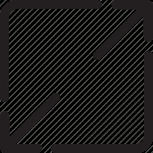 enlarge, full screen, maximize icon