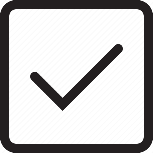 affirmative, correct, tick icon