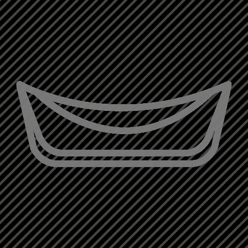 hammock, net, relax, sway, swing, travel icon