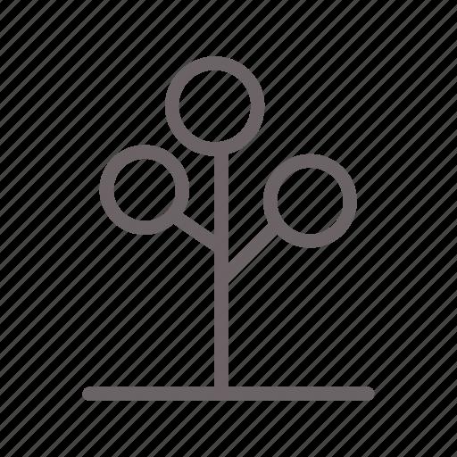 branch, forrest, garden, nature, stick, tree, wood icon