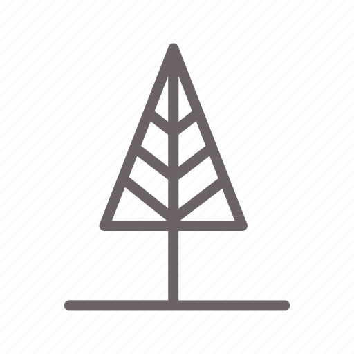 forest, forrest, garden, pine, tree, triangle, wood icon