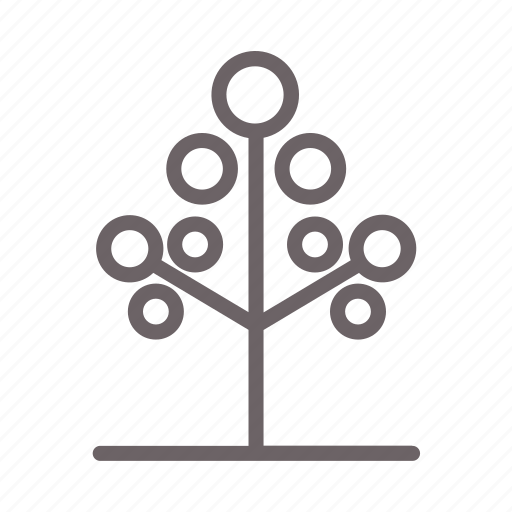 environment, flower, forest, leaves, tree icon