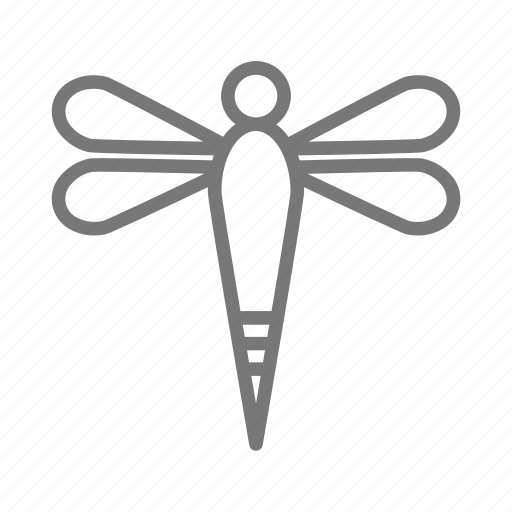 bug, butterfly, dragonfly, insect, moth, wings icon