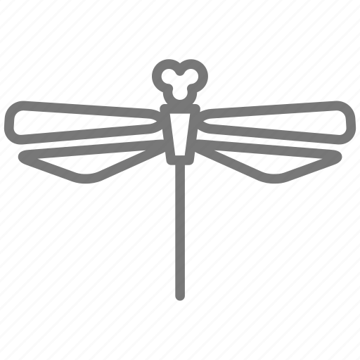 bug, dragonfly, fly, insect, moth, wings icon