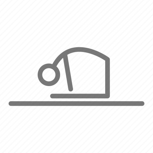backward, bend, pose, practice, stretch, yoga icon