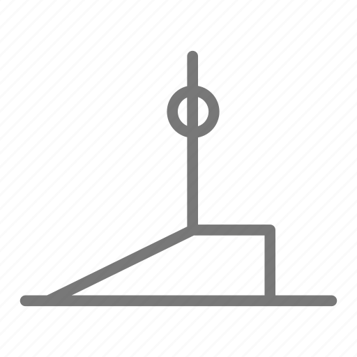 health, pose, practice, stretch, warrior, workout, yoga icon