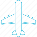 aeroplane, airways, flight, plane icon