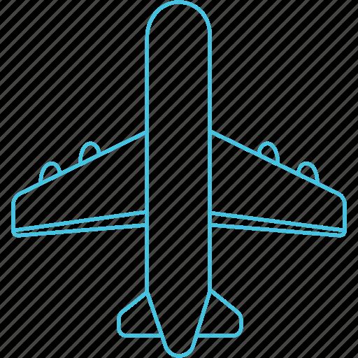 aeroplane, airways, flight, plane icon
