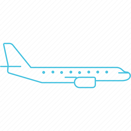 aeroplane, airways, boeing, plane icon