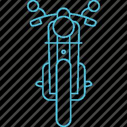 bike, motorbike, roadways, transport icon
