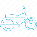 bike, motorcycle, transport icon