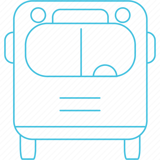 bus, transport icon