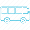 bus, minibus, roadways, transport icon