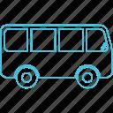 bus, minibus, roadways, transport icon