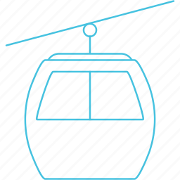 cable, ropeways icon
