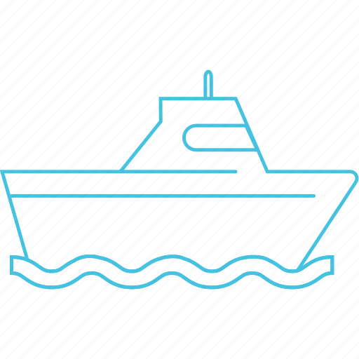 boat, cruise, ferry, ship icon
