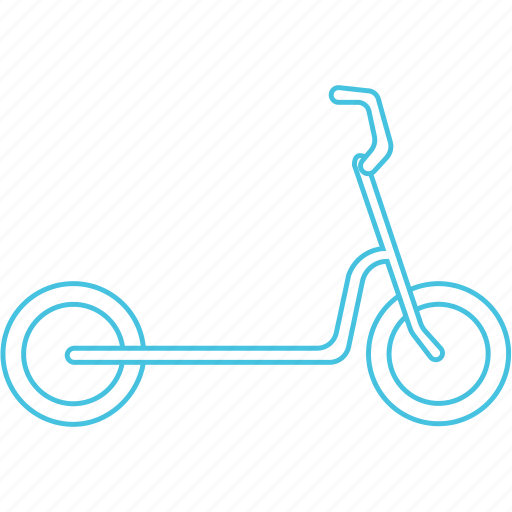 cycle, scooty, skating icon