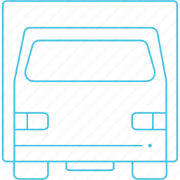 heavy vehicle, movers, transport, truck icon