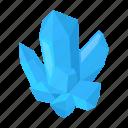 crystal, fossil, gemstone, mining icon