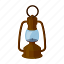 equipment, kerosene, lamp, lantern, light, mine, source icon