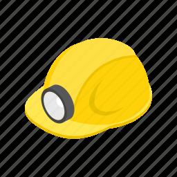 casque, crest, flashlight, headpiece, helm, helmet, slam icon
