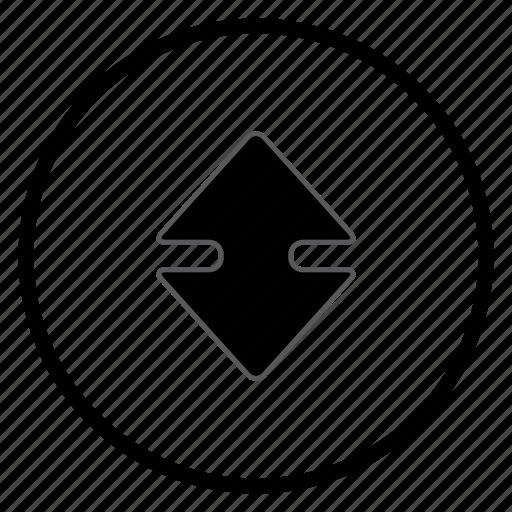 arrow, bone, navigation, navigation icon, up icon