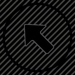 arrow, navigation, navigation icon icon
