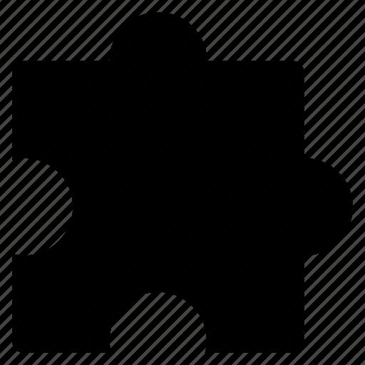 extension, piece, puzzle, solution icon