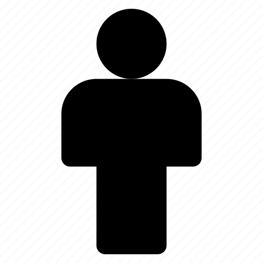 human, man, restroom, stand, straight icon