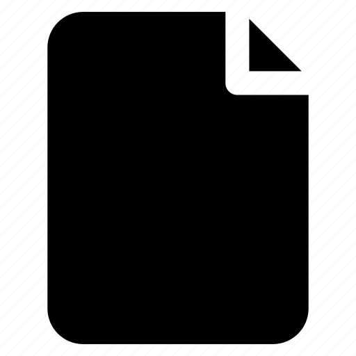 blank, document, draft, note, paper icon