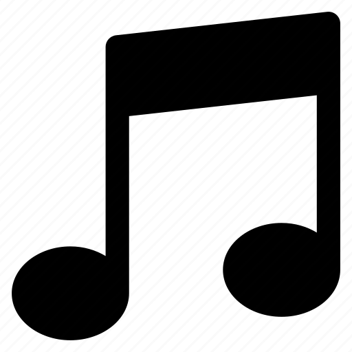 entertainment, key, music, note, song icon