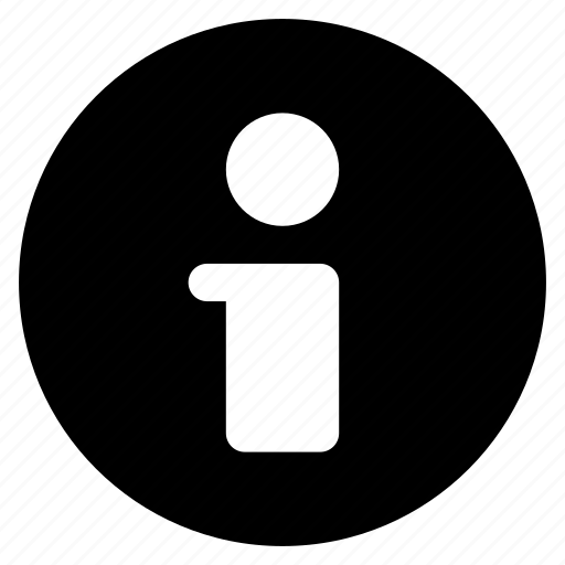 center, detail, information, notice icon