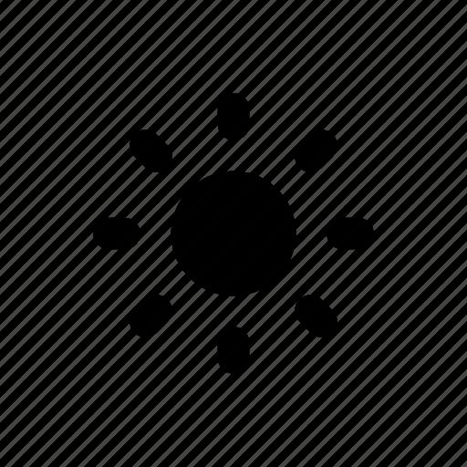 Brightness, dim, light, sun icon - Download on Iconfinder