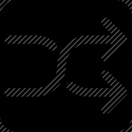 change, exchange, move, shuffle, swap icon