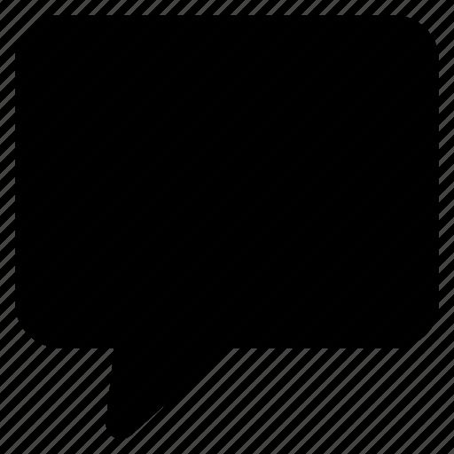 Chat, comment, speak, speech, talk icon - Download on Iconfinder