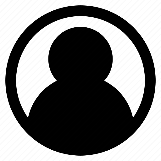 Account, avatar, human, man, minimal icon - Download on Iconfinder