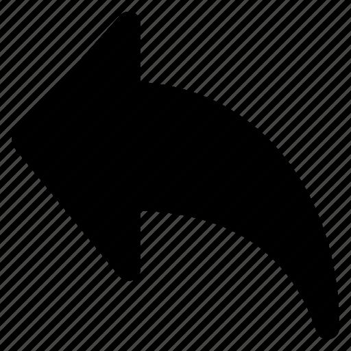 arrow, back, public, share, up icon