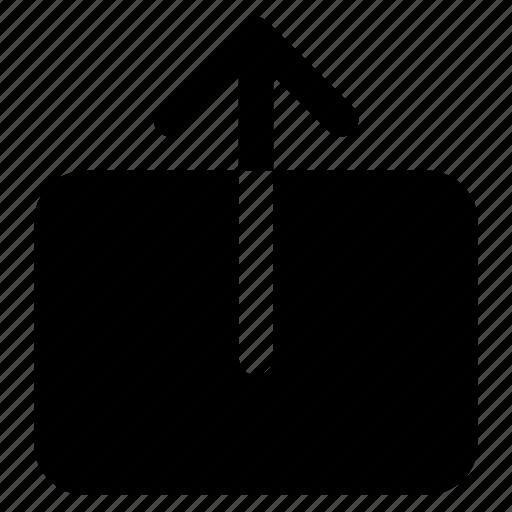 export, remove, share, upload icon