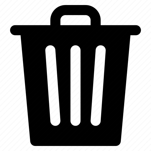 Bin, can, delete, gabage, recycle, trash icon - Download on Iconfinder