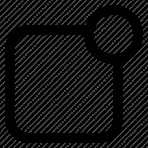 app, badge, label, notifications icon