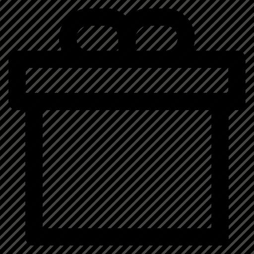 box, gift, present, prize, reward, wrap icon
