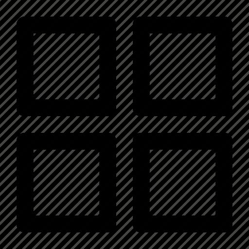 block, blockchain, cube, square, tile, window icon