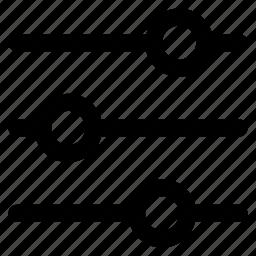 adjust, edit, panel, refine icon