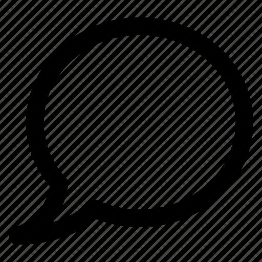balloon, chat, message, speech icon