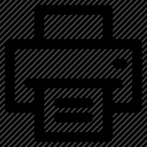 copy, paper, print, printer icon